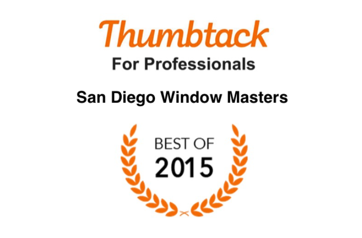 Thumbtack rated San Diego's Best